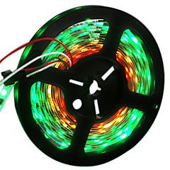 cheap LED Strip Lights-HKV Flexible LED Light Strips 300 LEDs RGB Cuttable Color-Changing Self-adhesive DC 12V