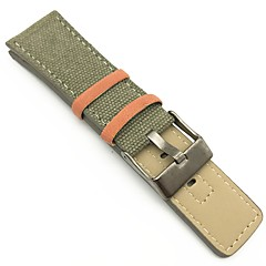 Fabric Watch Band Strap Green 26cm / 10.24 Inches