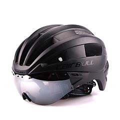 CAIRBULL Unisex Bisiklet Kask 22 Delikler Bisiklet Dağ Bisikletçiliği Yol Bisikletçiliği Tek Beden