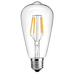 4w E27 st64 vuosikerta johti Edison polttimot hehkulampun lamppu energiansäästö 4w LED- 40w vastaava (220-240)