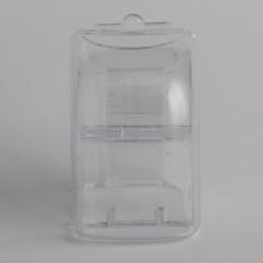 voordelige Horlogeaccessoires-Eenvoudige plastic transparante horloge cadeau doos