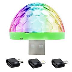 voordelige USB Lampen-Kerstverlichting LED Night Light USB Lights-5W-USB Smart Spraakbesturing - Smart Spraakbesturing