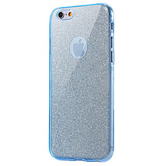 voordelige iPhone 5 hoesjes-Voor iPhone 8 iPhone 8 Plus Hoesje cover Schokbestendig Volledige behuizing hoesje Glitterglans Zacht TPU voor Apple iPhone 7s Plus