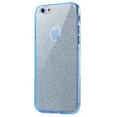 Недорогие Кейсы для iPhone 5-Кейс для Назначение Apple iPhone 8 iPhone 8 Plus Защита от удара Чехол Сияние и блеск Мягкий ТПУ для iPhone 8 Pluss iPhone 8 iPhone 7