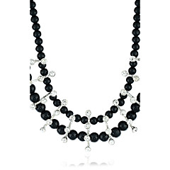Women's Statement Necklaces Synthetic Diamond Jewelry Pearl Alloy Euramerican Jewelry For Party Special Occasion Daily Casual