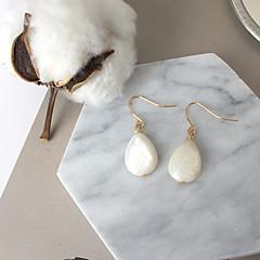 preiswerte Ohrringe-Damen Tropfen-Ohrringe - Tropfen Modisch, Euramerican Weiß Für Alltag Normal
