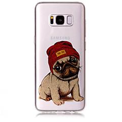 hoesje Voor Samsung Galaxy S8 Plus S8 IMD Patroon Achterkantje Hond Glitterglans Zacht TPU voor S8 S8 Plus S7 edge S7 S6 edge S6