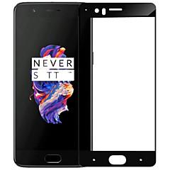 halpa Näytön suojakalvot-Näytönsuojat OnePlus varten One Plus 5 Karkaistu lasi 1 kpl Koko laitteen suoja Naarmunkestävä Räjähdyksenkestävät 9H kovuus Teräväpiirto