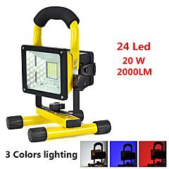 Φακοί Χειρός LED 2000 lumens lm 3 Τρόπος LED Συναγερμός Ανθεκτικό στα Χτυπήματα Έκτακτη Ανάγκη Εξαιρετικά Ελαφρύ High Power