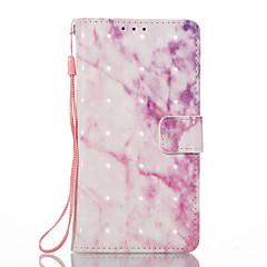 Недорогие Чехлы и кейсы для Sony-Для sony xperia xa xperia e5 чехол для телефона розовый шаблон 3d окрашенный карточный стент кошелек для телефона
