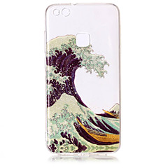 Case For Huawei P8 Lite (2017) P10 Lite Phone Case TPU Material IMD Process Waves Pattern HD Flash Powder Phone Case P9 Lite P8 Lite