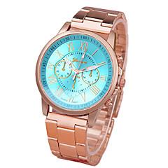 preiswerte Tolle Angebote auf Uhren-Damen Armbanduhr Armbanduhren für den Alltag Legierung Band Freizeit / Modisch Gold / Ein Jahr / Tianqiu 377