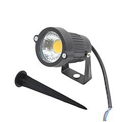 LED Προβολείς Περιστρεφόμενη 1 LEDs COB Θερμό Λευκό Ψυχρό Λευκό Κόκκινο Μπλε Πράσινο 300-400lm 2800-6500K AC 85-265 DC 12 AC 12V