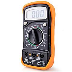 hyelec mas830l 미니 디지털 멀티 미터 백라이트 휴대용 다기능 멀티 미터