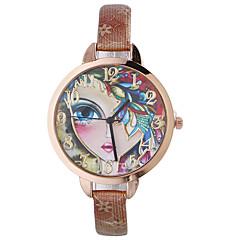 お買い得  大特価腕時計-女性用 クォーツ リストウォッチ カジュアルウォッチ レザー バンド ボヘミアンスタイル ファッション ブラック レッド ブラウン ゴールド ネービー ローズ