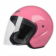 preiswerte Autozubehör-Halber Helm Formschluss Kompakt Luftdurchlässig Beste Qualität Sport ABS Motorradhelme