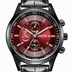 preiswerte Herrenuhren-Herrn Quartz Armbanduhr Armbanduhren für den Alltag Edelstahl Band Freizeit Kleideruhr Modisch Schwarz