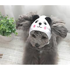 お買い得  犬用ウェア&アクセサリー-犬 ヘアアクセサリー 犬用ウェア 動物 ランダムカラー 立ち毛メリヤス生地 コスチューム ペット用 コスプレ