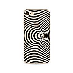 Чехол для iphone 7 плюс 7 обложка прозрачный узор задняя крышка корпуса линии / волны мягкая tpu для iphone 6s плюс 6 плюс 6s 6 se 5s 5c 5