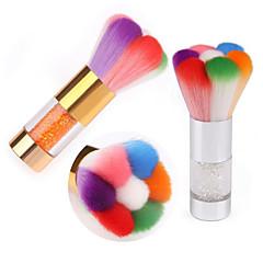 Pinpai Mix Colors Rhinestone Nail Art Dust Brush Hot Sale Nail Brush