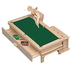 رخيصةأون -قطع تركيب3D النماذج الخشبية مجموعات البناء مفروشات اصنع بنفسك خشب كلاسيكي للجنسين هدية