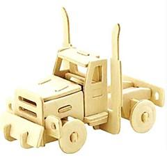 Sets zum Selbermachen 3D - Puzzle Holzpuzzle Spielzeuge Auto 3D Tiere Heimwerken Unisex Stücke