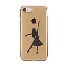 Case for iphone 7 6 сексуальная леди tpu мягкая ультратонкая задняя крышка чехол iphone 7 плюс 6 6s плюс se 5s 5 5c 4s 4