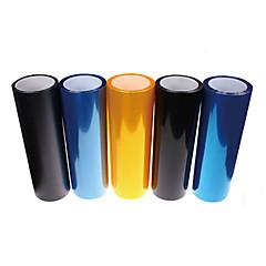 abordables Oferta del día-membrana de la luz del coche heterochrosis membrana translúcida membrana matorrales película ligera trasera 60cm * 30cm