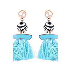 preiswerte Ohrringe-Damen Quaste Tropfen-Ohrringe - Rosa Perle Hellblau / Leicht Rosa / Oberfläche Für Geburtstag Abschluss Geschenk