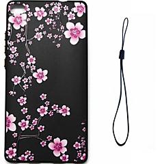 Taske til huawei p10 plus p8 lite (2017) cover embosseweid mønster bagside cover blomst soft tpu til huawei p8 p9 p9 lite p10 p10 lite ære