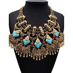 abordables Collares-Mujer Forma Geométrica Personalizado Bohemio Moda Ajustable Adorable Hecho a Mano Joyería Destacada Elegant Collares Declaración Diamante