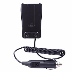 billige Walkie-talkies-Bil oplader batteri eliminator adapter til baofeng bf-888s 777 666s radio walkie talkie tilbehør m / cigaret lighter plug