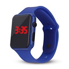 hhy led horloge student volwassen paar geleid elektronische horloge armband tijd kalender