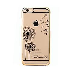 Θήκη για iphone 7 6 πικραλίδα tpu μαλακό εξαιρετικά λεπτό κάλυμμα κάλυψης θήκης iphone 7 plus 6 6s plus se 5s 5 5c 4s 4