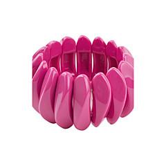 preiswerte Armbänder-Damen Armreife - Harz Personalisiert, Böhmische, Simple Style Armbänder Grün / Dunkelrot / Hellblau Für Hochzeit Party Abschluss
