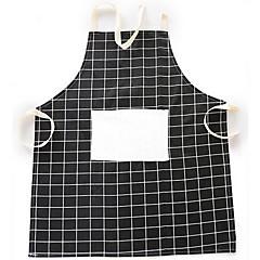 billige Køkkenrengøringsmidler-1 stk nordisk styletattice bomuldsklud forklæde køkken tilbehør