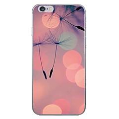Недорогие Кейсы для iPhone 7 Plus-Случай для яблока iphone 7 7 плюс крышка случая одуванчика hd покрасила более толстый материал tpu мягкий случай случая телефона для