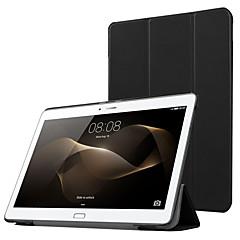 preiswerte Tablet-Hüllen-Hülle Für Huawei Ganzkörper-Gehäuse / Tablet-Hüllen Solide Hart PU-Leder für Huawei MediaPad M2 10.0(M2-A01W, M2-A01L)