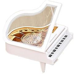Music Box Zabawki Taniec Pianino Instrumenty muzyczne Tworzywa sztuczne Drewniany Sztuk Dziecko Dla obu płci Urodziny Prezent