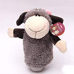 voordelige -knuffels Vingerpop Speeltjes Paard Schaap Cow Nijlpaard Hert Dieren Katoenen Doek Kind Volwassenen Stuks
