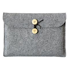 "abordables Fundas para Portátil-Textura de lana Un Color Mangas Universal / Laptop de 13 """