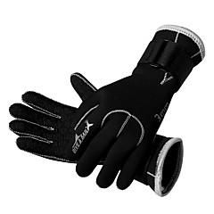 Χαμηλού Κόστους -Γάντια Κατάδυση Ολόκληρο το Δάχτυλο Διατηρείτε Ζεστό Γρήγορο Στέγνωμα Φοριέται Αναπνέει Ανθεκτικό στη φθορά Προστατευτικό 3mm Σκι Πατινάζ