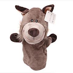 voordelige -knuffels Vingerpop Speeltjes Paard Cow Nijlpaard Hert Dier Dieren Katoenen Doek Kind Volwassenen Stuks
