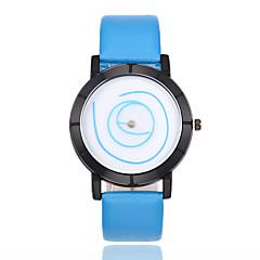 preiswerte Herrenuhren-Herrn Armbanduhr Chinesisch PU Band Freizeit / Modisch Schwarz / Weiß / Blau / Jinli 377