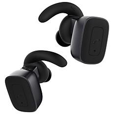 q5 진정한 무선 이어폰 블루투스 헤드폰, 마이크 핸즈프리 통화 경량 스테레오 이어폰, 스포츠 및 비즈니스 용