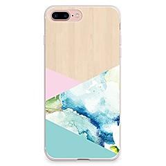 Για iPhone X iPhone 8 Θήκες Καλύμματα Διαφανής Με σχέδια Πίσω Κάλυμμα tok Γεωμετρικά σχήματα Μαλακή TPU για Apple iPhone X iPhone 8 Plus