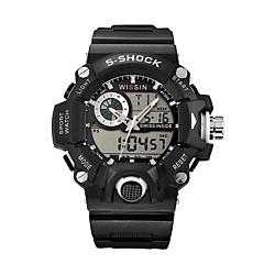 Men's Sport Watch Digital Watch Wrist watch Casual Watch Swiss Digital LED Calendar Chronograph Water Resistant / Water Proof Dual Time