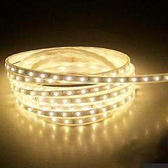 preiswerte LED Lichtstreifen-4m 240 LEDs 5050 SMD Warmes Weiß / Weiß / Blau Wasserfest 220 V / IP65