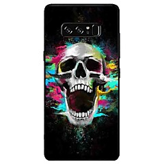 halpa Galaxy Note 3 kotelot / kuoret-Etui Käyttötarkoitus Samsung Galaxy Note 8 Note 5 Kuvio Takakuori Pääkallot Pehmeä TPU varten Note 8 Note 5 Edge Note 5 Note 4 Note 3