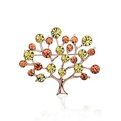 olcso Brossok-Női Melltűk Sál csat Divat Csing Csing Strassz Ötvözet Az élet fája Ékszerek Kompatibilitás Színpad Alkalmi